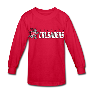 Long Sleeve Crusader T-Shirt - Kids' - Kids' Long Sleeve T-Shirt
