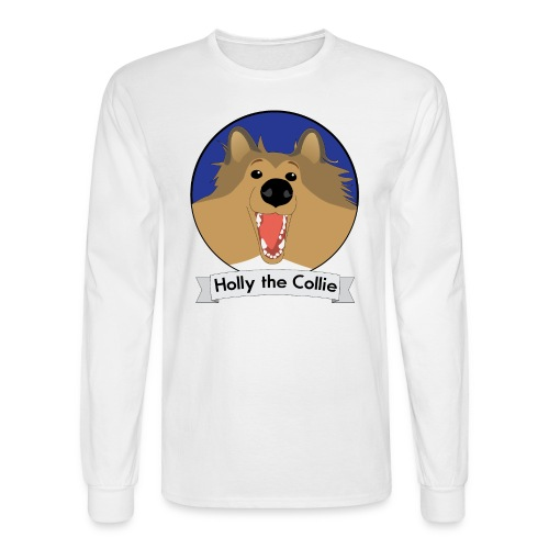 Holly the Collie Basic - Mens Long Sleeve  - Men's Long Sleeve T-Shirt
