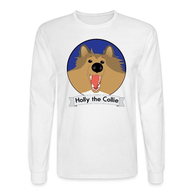 Holly the Collie Basic - Mens Long Sleeve