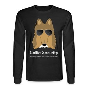 Collie Security - Mens Long Sleeve - Men's Long Sleeve T-Shirt