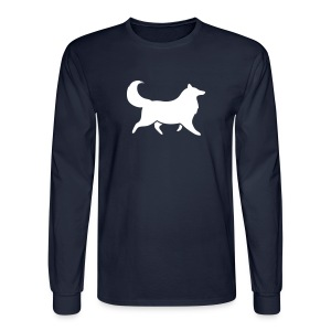 Silhouette -  Mens Long Sleeve - Men's Long Sleeve T-Shirt