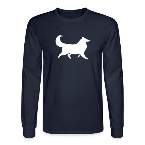 Silhouette -  Mens Long Sleeve - Men's Long Sleeve T-Shirt