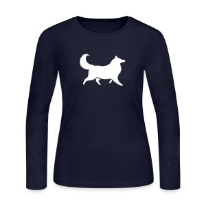 Silhouette -  Womens Long Sleeve - Women's Long Sleeve Jersey T-Shirt