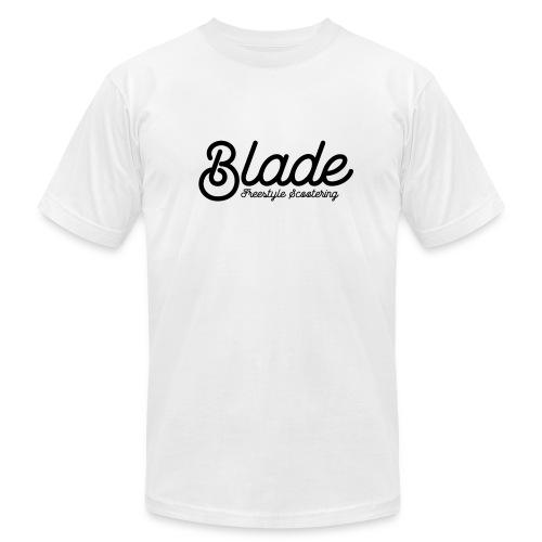 Blade Scooters Logo Tee - Men's Fine Jersey T-Shirt
