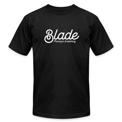 Blade Scooters Logo Tee Black - Men's Fine Jersey T-Shirt