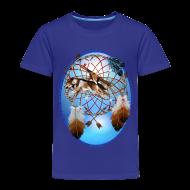 Baby & Toddler Shirts ~ Toddler Premium T-Shirt ~ Pipe, Wolf, Arrows