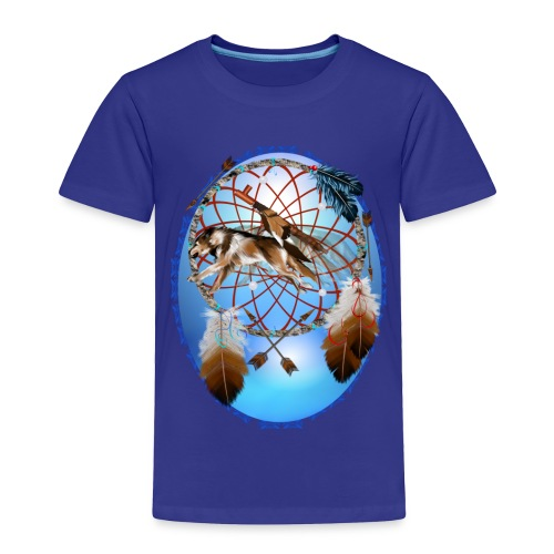 Pipe, Wolf, Arrows - Toddler Premium T-Shirt
