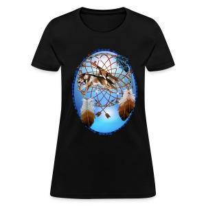 Pipe, Wolf, Arrows - Women's T-Shirt