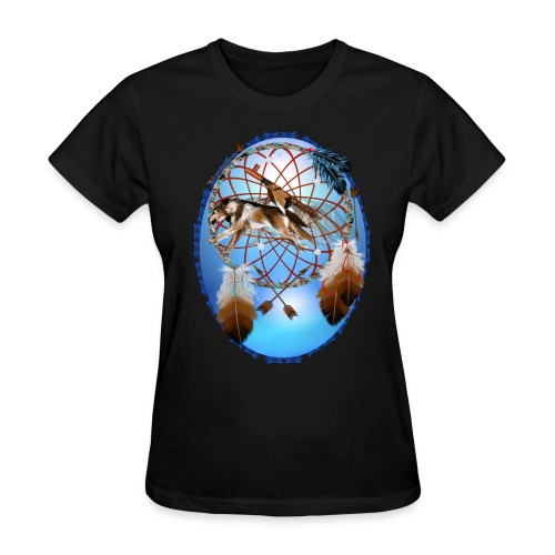 Pipe, Wolf, Arrows - Women's T-Shirt
