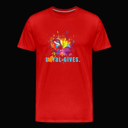 L0YaL GiVES. LOVE - Men's Premium T-Shirt
