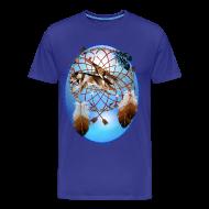 T-Shirts ~ Men's Premium T-Shirt ~ Pipe, Wolf, Arrows