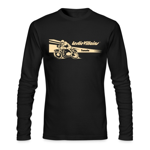 Men's Cafe Racer Long Sleeve - Men's Long Sleeve T-Shirt by Next Level