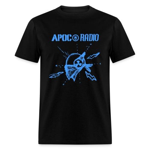 Apoc Radio Blackboard - Men's T-Shirt