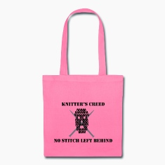 Knitter's Creed Bags & backpacks