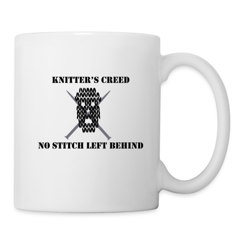 Knitter's Creed - Coffee/Tea Mug