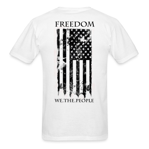 Freedom - We The People - Men's T-Shirt
