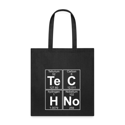 Te-C-H-No (techno) Bag - Tote Bag