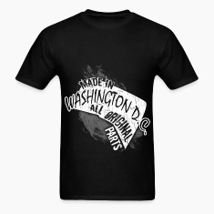 Washington D.c.T-shirt - Made In Washington D.c.