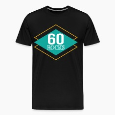 60th Birthday Retro 60 Rocks T-Shirts