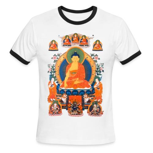 Buddha Shakyamuni Men's Ringer T-Shirt - Men's Ringer T-Shirt