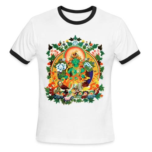 Green Tara Men's Ringer T-Shirt - Men's Ringer T-Shirt