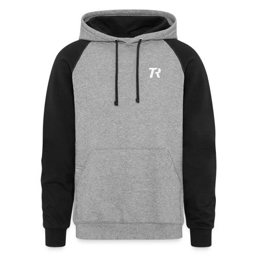 TR Logo Hoodie - Colorblock Hoodie