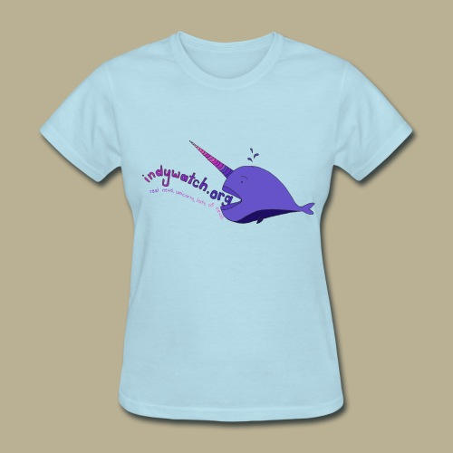 Narwhal Fitted Tee - Women's T-Shirt