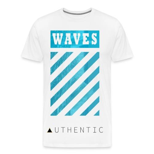 Waves - Men's Premium T-Shirt