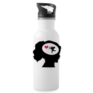 Only Love On My Mind Mugs & Drinkware - Water Bottle