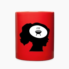 Only BBQ On My Mind Mugs & Drinkware
