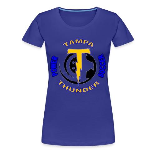 Thunder Logo Tee - Women's Premium T-Shirt