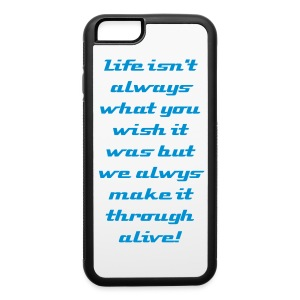 iPhone 6 Inspiration Rubber Phone Case - iPhone 6/6s Rubber Case