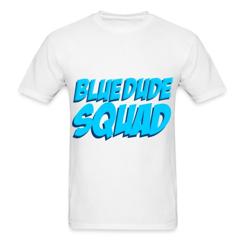 BlueDude SQUAD!  - Men's T-Shirt