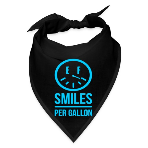 Smiles Per Gallon Bandana  - Bandana