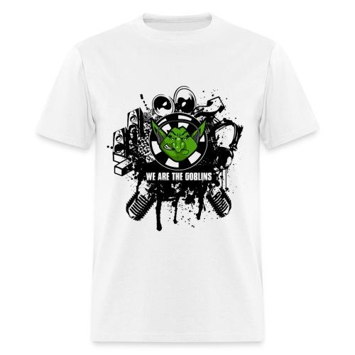 Mens/Boys White Goblins T Shirt - Men's T-Shirt