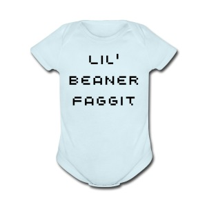 Beaner Faggit Baby Clothes - Short Sleeve Baby Bodysuit