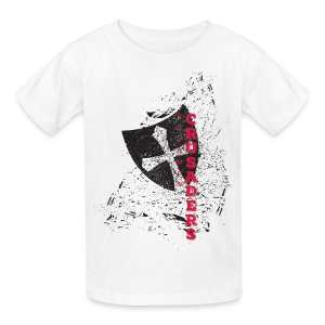 Distressed Shield T-Shirt - Kids' - Kids' T-Shirt