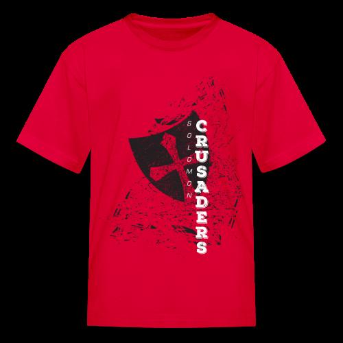 Distressed Shield T-Shirt - Kids' - Kids' T-Shirt