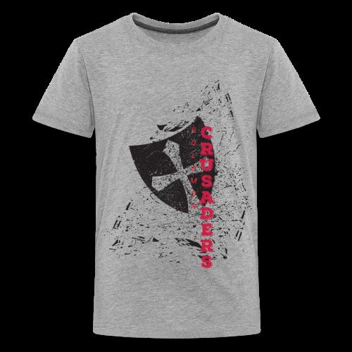 Distressed Shield Premium T-Shirt - Kids' - Kids' Premium T-Shirt