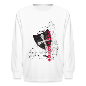 Distressed Shield Long Sleeve T-Shirt - Kids' - Kids' Long Sleeve T-Shirt