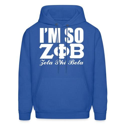 Im So Zeta Hoodie - Men's Hoodie