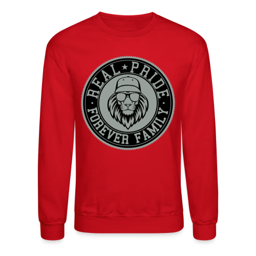 Lions Head Crew Neck - Crewneck Sweatshirt