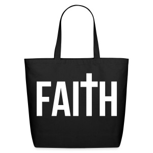 Faith Tote - Eco-Friendly Cotton Tote