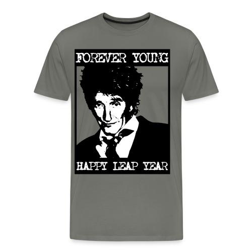 Forever Young - Men's Grey - Men's Premium T-Shirt