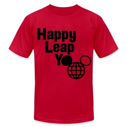 Happy Leap Y-EAR - Men's - Men's Fine Jersey T-Shirt