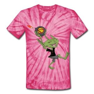 Goblin bomber Unisex Tie Dye T-Shirt - Unisex Tie Dye T-Shirt