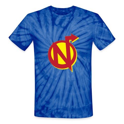 Nerdarchy Logo Unisex Tie Dye T-Shirt - Unisex Tie Dye T-Shirt