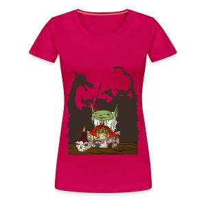 Women's Goblin Dungeon Master T-Shirt - Women's Premium T-Shirt