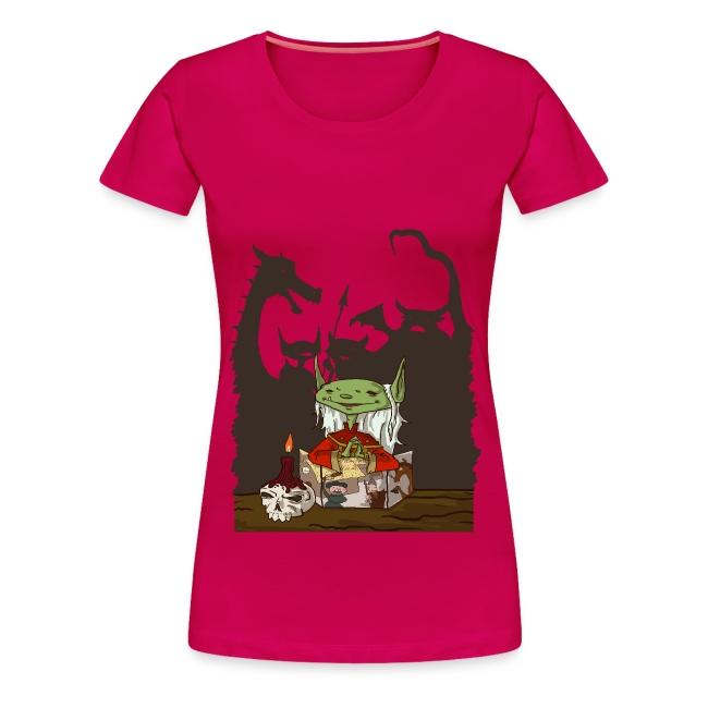 Women's Goblin Dungeon Master T-Shirt