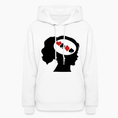 Gambler; Only Poker On My Mind Hoodies